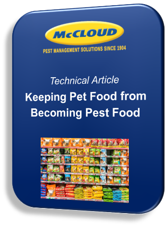 Keeping Pet Food from Becoming Pest Food